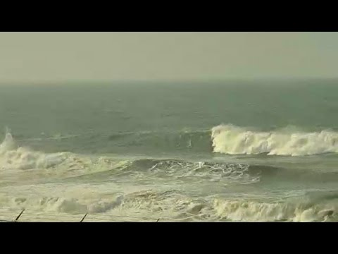 50' Storm Surf Off California Coast | Maverick's Live Cam