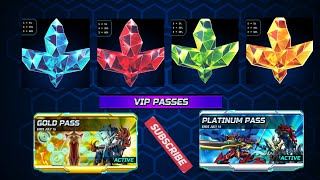 Gambar cover Open All Shining Avatar Crystal form event VIP PASSES| Beybladeburst Rivals App