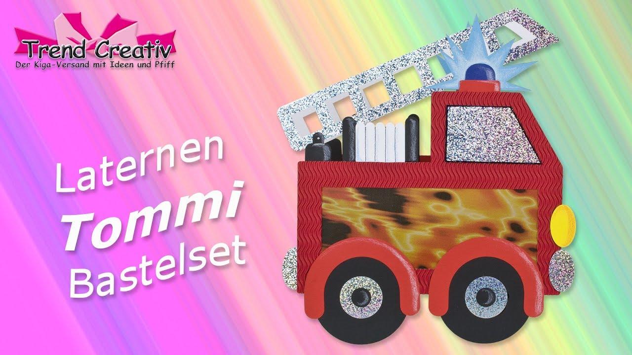 Laternen Bastelset Tommi Anleitungsvideo Tutorial Basteln Mit Kinder