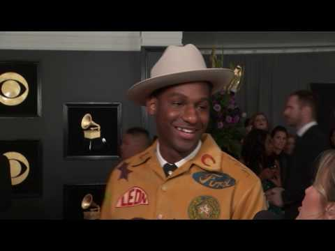 Leon Bridges Red Carpet Interview | 2019 GRAMMYs