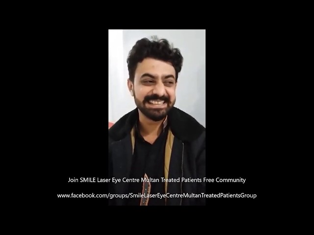 Review of Mohammad Ali of Zeiss TransPRK ASA at SMILE Laser Eye Centre Multan