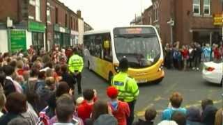 OLYMPIC TORCH ARRIVES[CREWE]