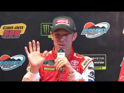 Matt Kenseth throws out his best 'Dad Jokes' in post-race presser