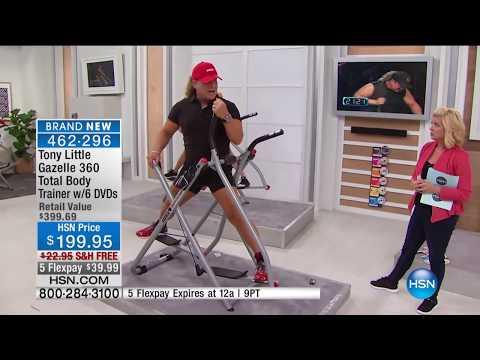 Tony Little Gazelle 360 Total Body Trainer | HSN