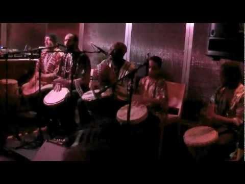 Asheber & The Afrikan Revolution - Djembe Drums & Freedom Songs Pt. 1