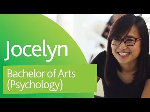 Jocelyn, Bachelor of Arts (Psychology)