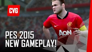 PES 2015 - New PS4 Gameplay - September 2014 build
