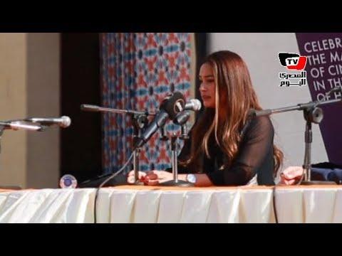 هند صبري تكرم بجائزة «فاتن حمامة للتميز»في ندوة بمهرجان القاهرة السينمائي  - نشر قبل 22 ساعة