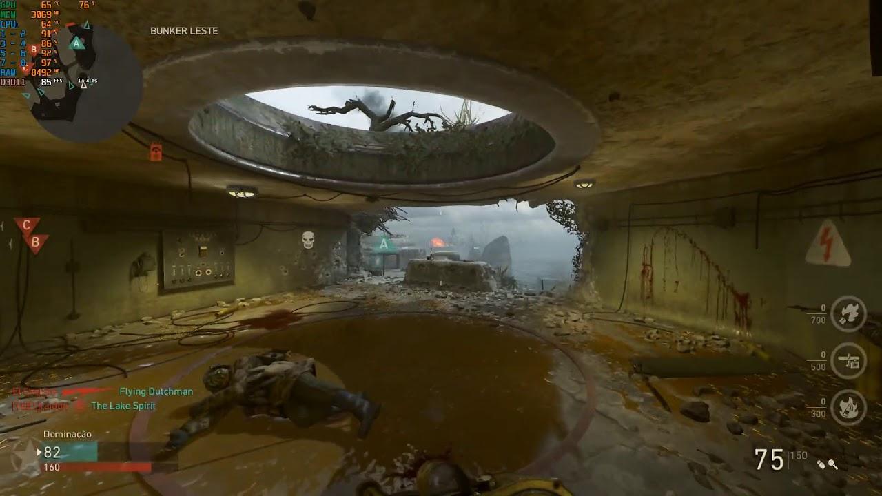 Call of Duty WW2 - Hacker (aimbot / wallhack)