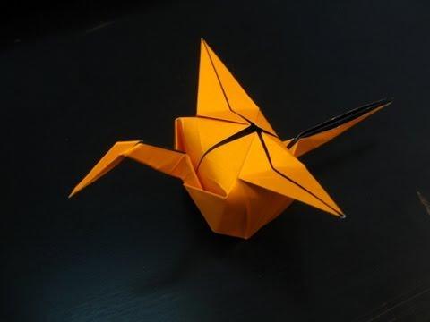 Origami Crane Party Hat Tutorial Tim Rickman Youtube