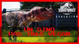"UN DINO PAS TRÈS VEGAN 🦖🥩‼️ "" #Jurassic World Évolution."""