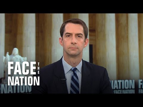 "Sen. Tom Cotton says Christine Blasey Ford has been ""victimized by Democrats"""