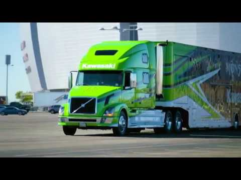 Science of Supercross - Team Transporter - Race Day LIVE - 2017