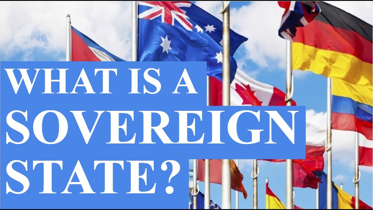 what is a sovereign state