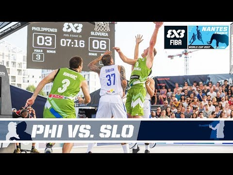 GAME OF THE DAY - Philippines vs Slovenia - FIBA 3x3 World Cup 2017