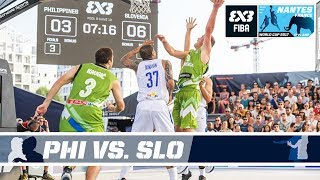 GAME OF THE DAY - Philippines vs Slovenia - FIBA 3x3 World Cup 2017 thumbnail