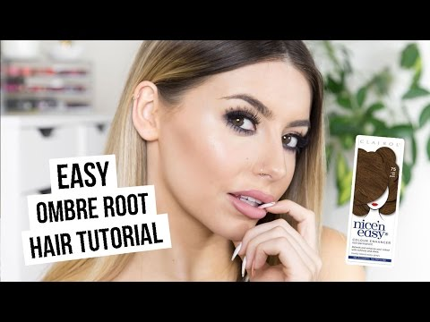 EASY OMBRE ROOT HAIR TUTORIAL I COCOCHIC