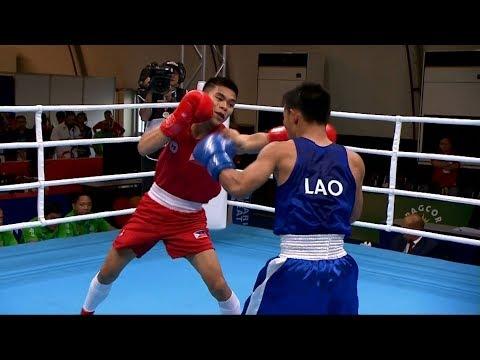 Philippines vs Laos | Boxing Men's Light Flyweight [46-49Kg]  - QF | 2019 SEA Games