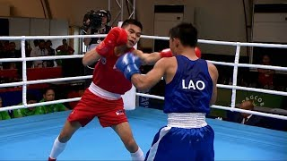 Philippines vs Laos | Boxing Men's Light Flyweight [46-49Kg]  - QF | 2019 SEA Games