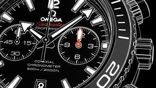 Omega Seamaster Планета Океан Калібр 9300/9301 - відео інструкція