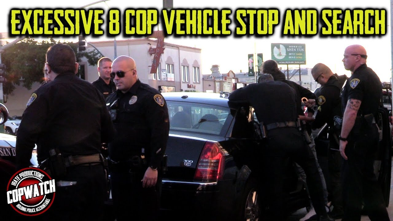 Excessive Gang Unit Pretext Stop & Search | 2 Arrested | Copwatch