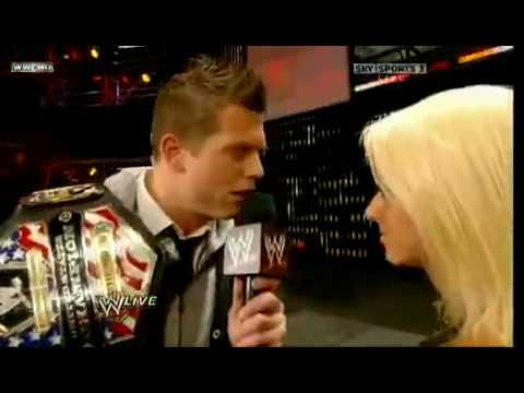 WWE Monday Night Raw 1-4-10 The Miz Debuts new theme Song
