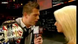WWE Monday Night Raw 1-4-10 The Miz Debuts new theme Song