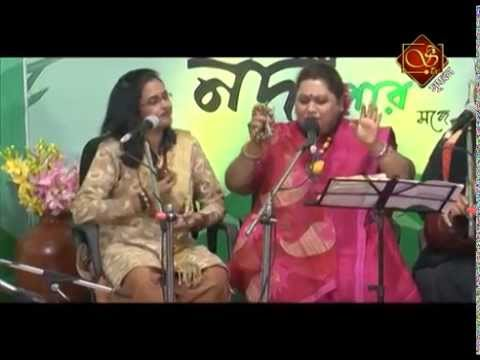 """Sahaj Ma & Utpal Fakir at""""JE KARIBE NADI PAR"""" : Srijan TV"""