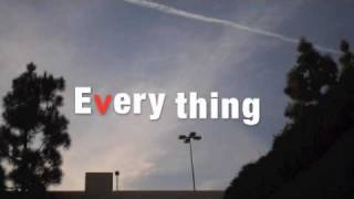 Everything - Michael Bublé Lyrics