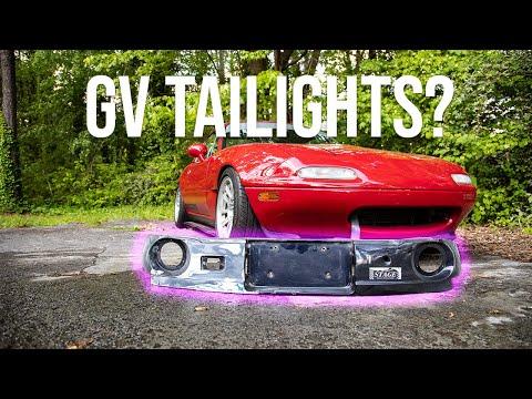 Vlog: Miata Getting GV Tails + AC On Turbo Civic & C5 Vette