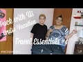 Pack With Us Collab w. ALEX CASTRO | Travel Essentials #3 | NICOLE MOJICA