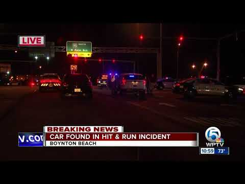 Car found after hit-and-run in Boynton Beach