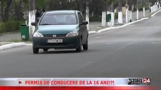 PERMIS DE CONDUCERE DE LA 16 ANI 27 05 2015 Media TV Medgidia