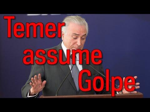 """Temer: impeachment ocorreu porque Dilma recusou """"Ponte para o Futuro"""""""
