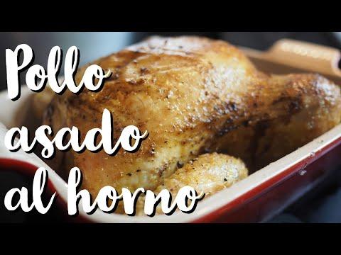 Pollo asado al