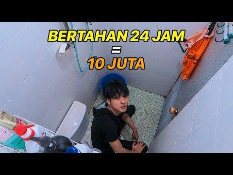 24 JAM DI KAMAR MANDI DAPET 10 JUTA - CHALLENGE !