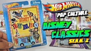Hot Wheels Pop Culture Disney Classics - Clasicos de Disney, Dumbo, Alicia, Pinocho