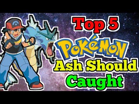 Top 5 Pokemon Ash Should Caught [Explain in Hindi]