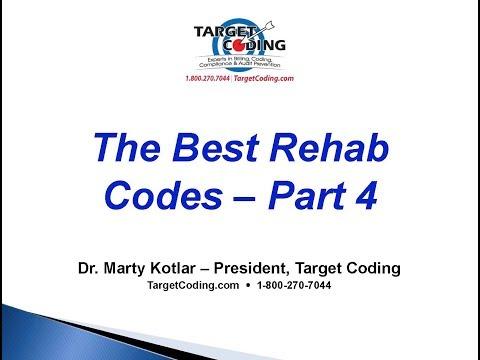 Target Coding Best Rehab Codes   4