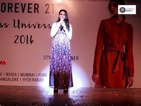 Miss University 2016 Talent Show Round Glimpse || Campus Drift