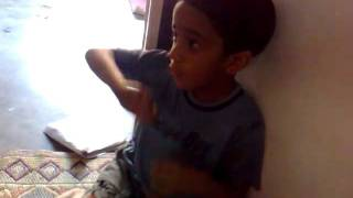 PAISA PAISA SUNG BY A CHILD
