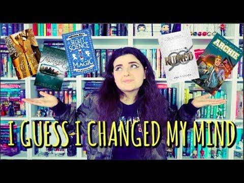 BOOKS I'VE TAKEN OFF MY TBR - A Rambly Top 5 Wednesday || G-Swizzel Books ♔