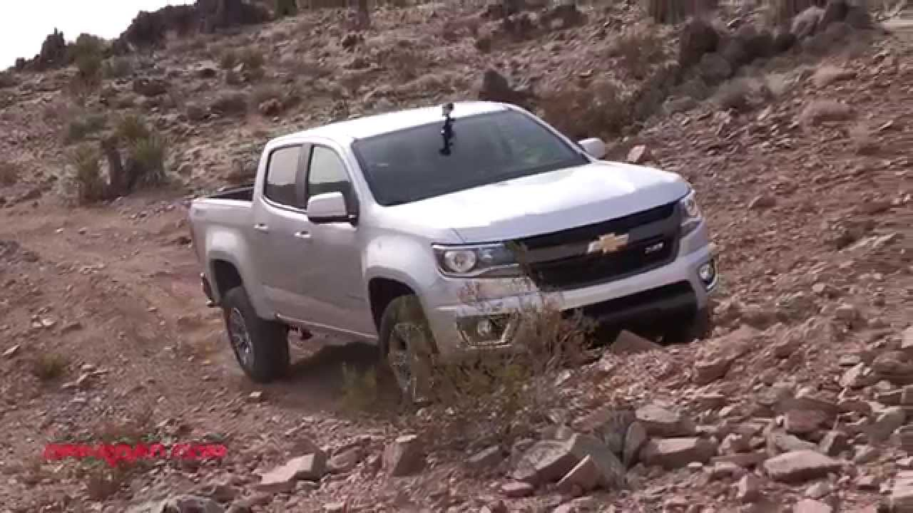 2017 Mid Size Truck Shootout Colorado Vs Tacoma Frontier Off Road