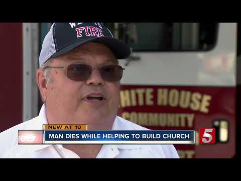 One dead in accident at construction site of new church in White House