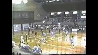 1983 関東1部 7大学バレーボールリーグ その2  順大VS法政