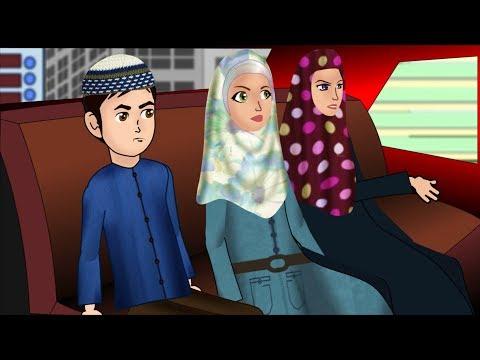 Our new red car dua for riding Abdul Bari Urdu Islamic Cartoons for children