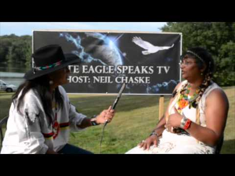 White Eagle Speaks TV Interviewing Claudia FoxTree On With Host Neil Chaske