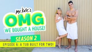 Omg We Bought A House: A Tub Built For Two! | Diy Home Decor | Mr Kate