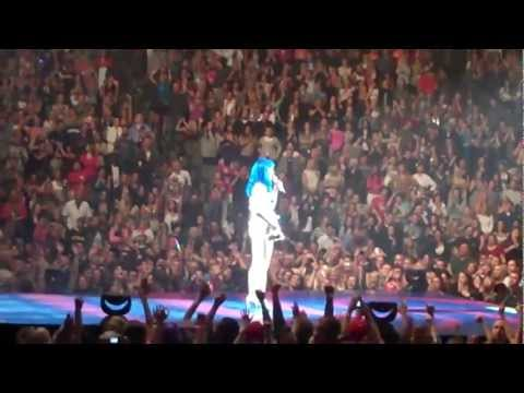 "Katy Perry live in Omaha Ne 2011 ""Fire Works"""
