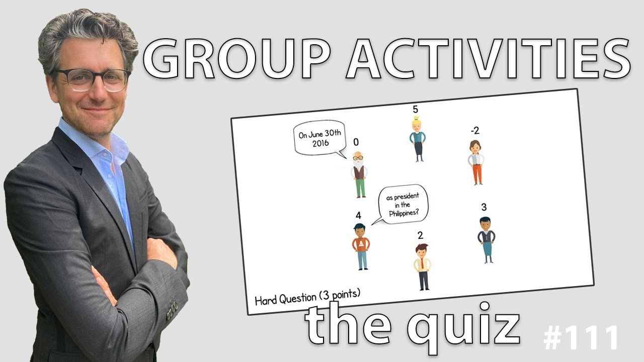 Group Activities - The Quiz